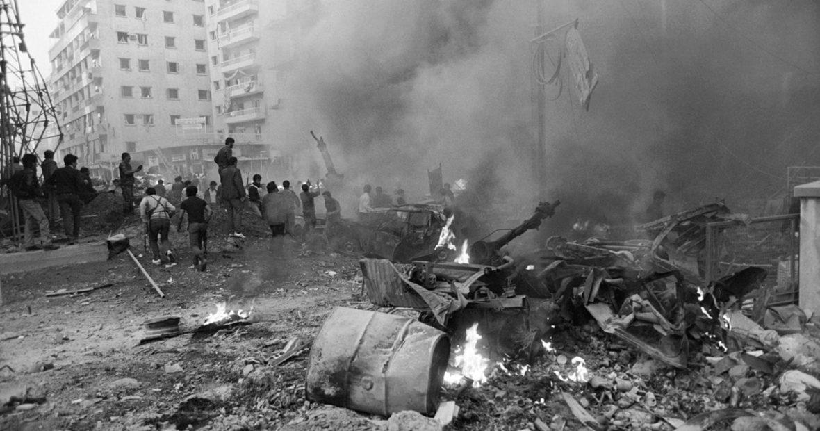 بيروت السلم شعرية، بيروت الدمار روائية: خراب المكان كما تسرده الرواية اللبنانية