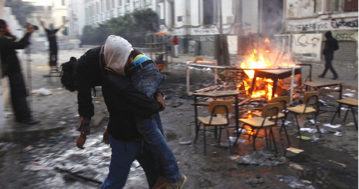 تحتج وتنزف الدماء…مدن عربية تتداعى بفعل العنف
