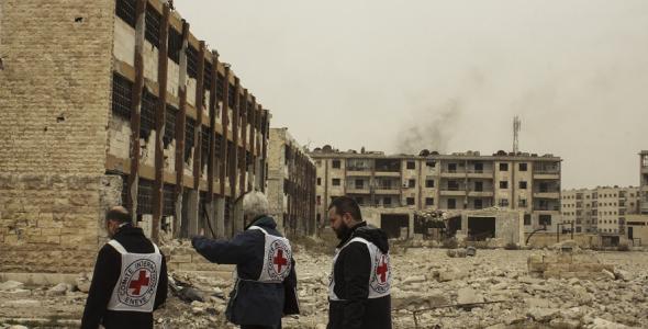 حماية المدنيين دعما للاستقرار العالمي: سبع قضايا توجه دفة العمل الإنساني في 2018
