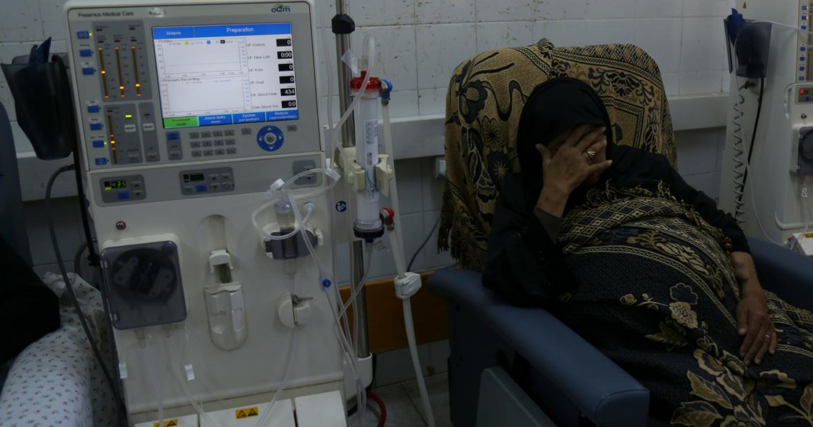 مرضى «الكُلى» في غزة ينشدون الحياة