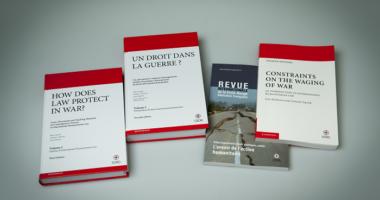 موجز: أهم الإصدارات التي نُشرت مؤخرًا حول القانون الدولي الإنساني والنزاعات المسلحة