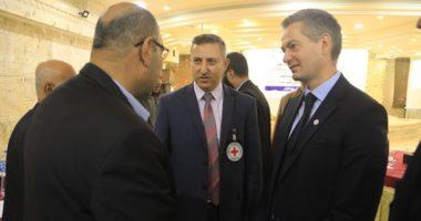 يوسف اليازجي: حوار مستمر مع قادة المجتمع المحلي الفلسطيني لمصلحة المتضررين من النزاع