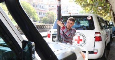 يوم في حياة اللجنة الدولية للصليب الأحمر… عمر جمعة من سورية يتحدث عن عمله