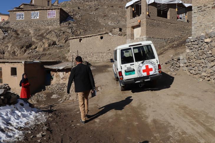 أسباب بقاء اللجنة الدولية للصليب الأحمر في أفغانستان