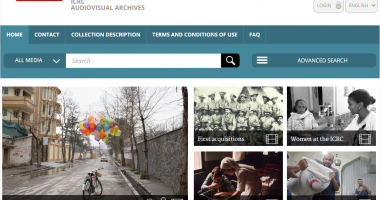 ICRC Audiovisual Archives Portal now open