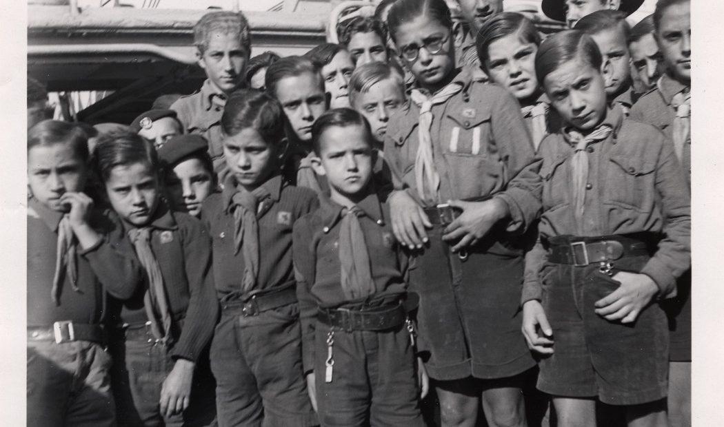 L'odyssée d'un camp de scouts durant la guerre d'Espagne