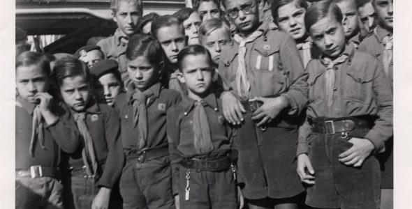 A Scout Camp Journey During the Spanish Civil War