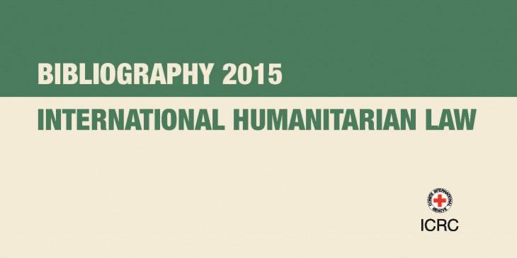 bibliography-ihl-2015