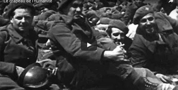 """Le drapeau de l'humanité"" : a film through the lens of the Archives"