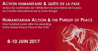 Action humanitaire & quête de la paix : 8-10 juin 2017