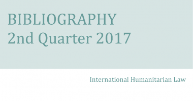 IHL Bibliography – 2nd Quarter 2017