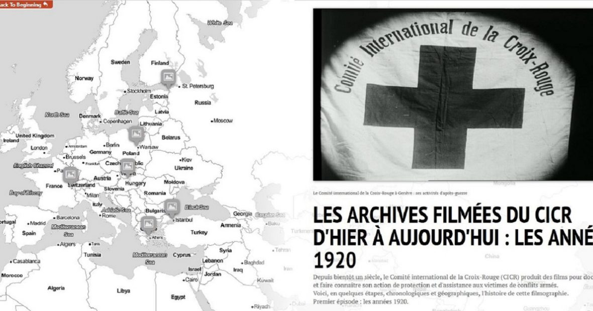 The ICRC's film archives from yesterday to nowadays