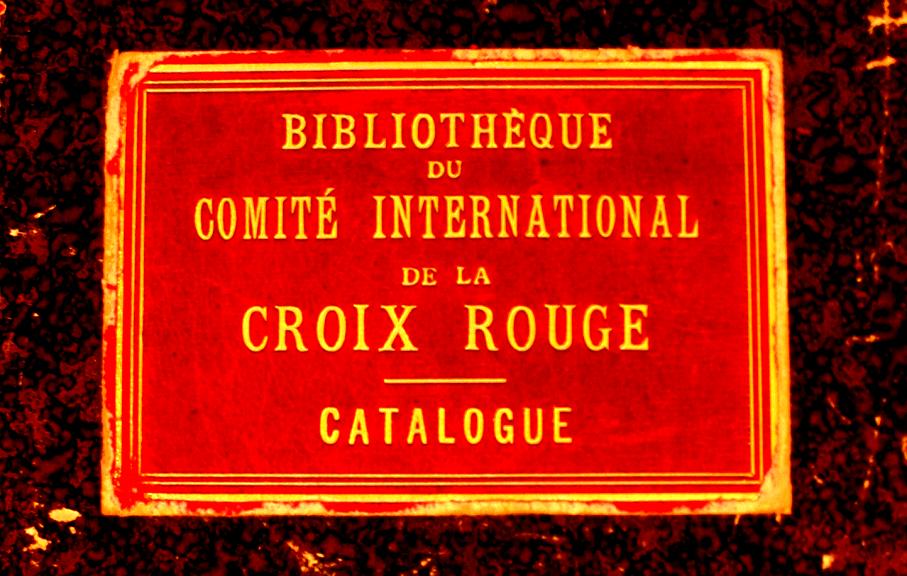 1863-1918 : L'Ancien Fonds de la Bibliothèque du CICR