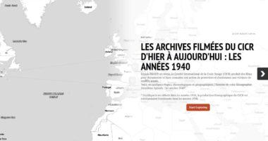 Les archives filmées du CICR d'hier à aujourd'hui : les années 1940