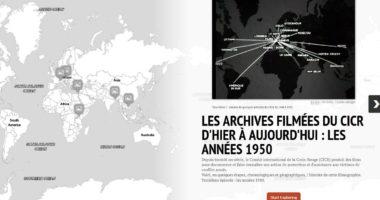 Les archives filmées du CICR d'hier à aujourd'hui : les années 1950