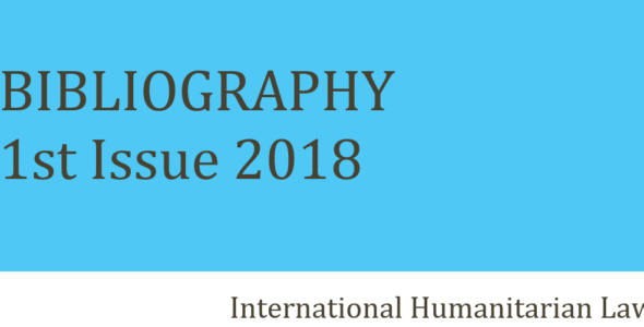 The New IHL Bibliography is out! (2018/1)