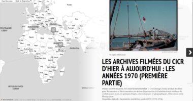 Les archives filmées du CICR d'hier à aujourd'hui : les années 1970 (première partie)