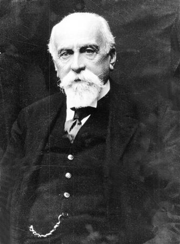 Gustave Ador, président du CICR de 1910 à 1928 (A CICR (DR)/S.N.)