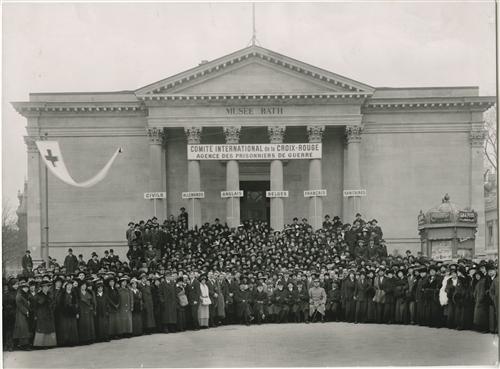 L'action du CICR pendant la Première Guerre mondiale
