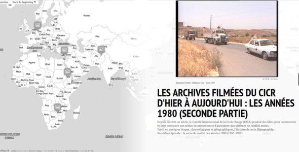 Les archives filmées du CICR d'hier à aujourd'hui : les années 1980 (seconde partie)