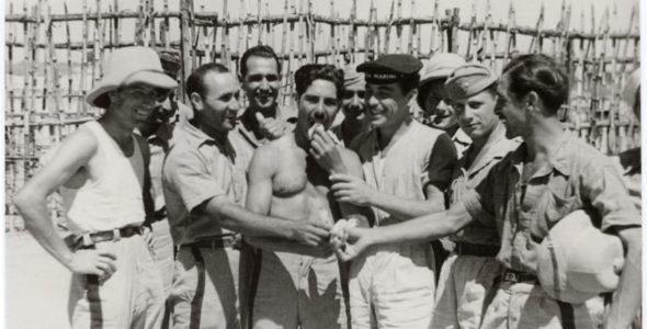 The long trip of an Italian prisoner of war