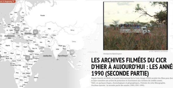 Les archives filmées du CICR d'hier à aujourd'hui : les années 1990 (seconde partie)