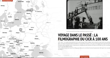 Voyage dans le passé : la filmographie du CICR à 100 ans