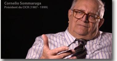 Une histoire d'Humanité – 13 – Cornelio Sommaruga, souvenirs d'un président du CICR (1987 – 1999)