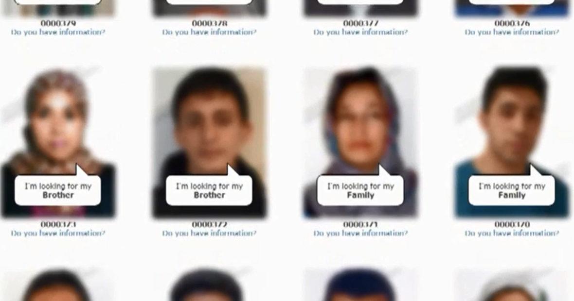 Journée internationale des disparus : focus sur la campagne «Trace The Face» en faveur des migrants