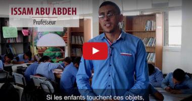 Gaza : sensibiliser les écoliers aux dangers des débris de guerre non explosés