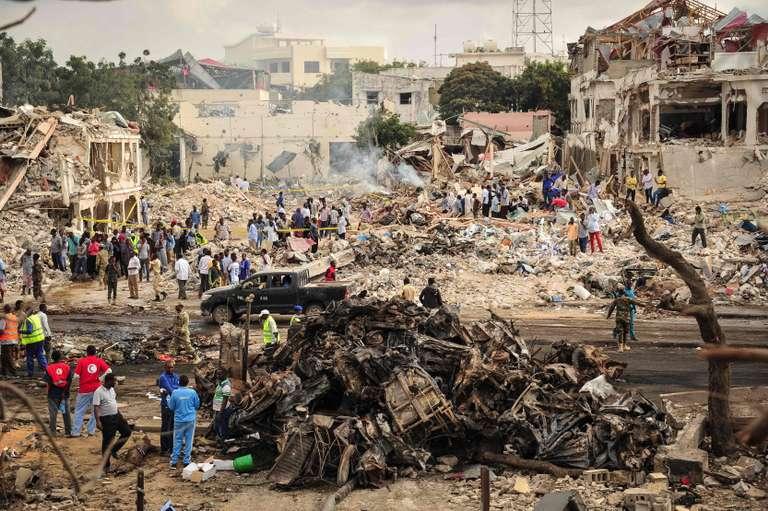 Mogadiscio : parmi les centaines de tués, plusieurs volontaires du Croissant-Rouge somalien