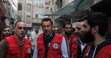 Syrie : «Je suis fatigué et ecoeuré des arguments vains pour justifier les violations flagrantes du droit contre les civils.» Peter Maurer, président du CICR