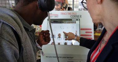 Migrants : la borne interactive «Trace The Face» présentée au Festival «Tous engagés» de la Croix-Rouge française