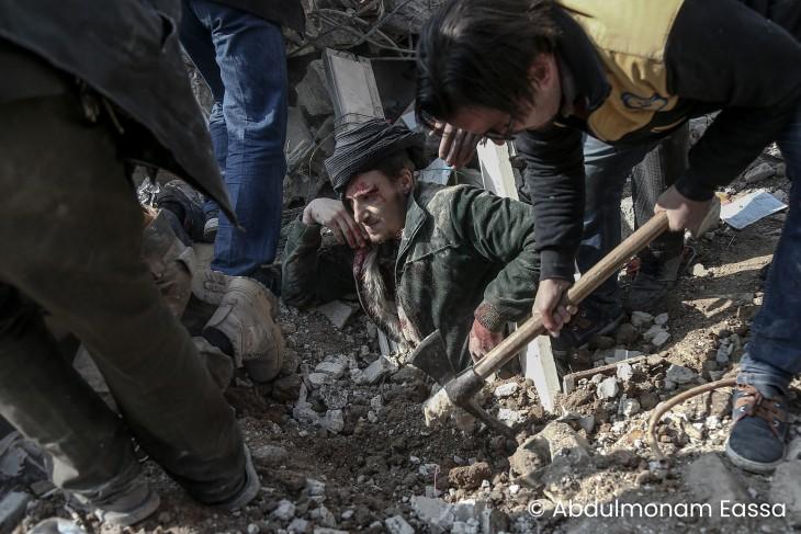 Photojournalisme : Abdulmonam Eassa, jeune photographe syrien lauréat 2019 du Visa d'Or humanitaire du CICR