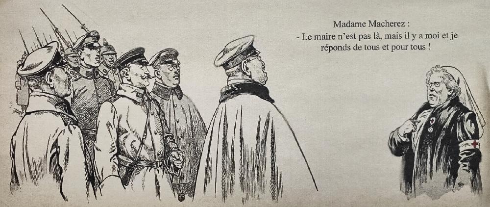 En France, la première « maire » fut une infirmière Croix-Rouge