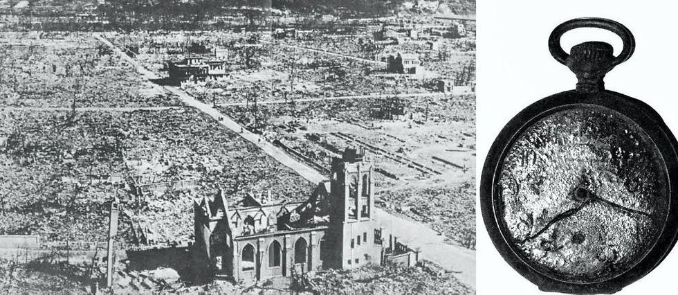 Réchauffement climatique et armes nucléaires, deux fléaux, un projet : la destruction de l'humanité