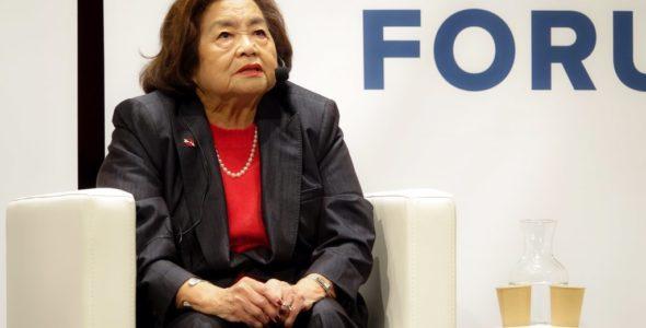 Setsuko Thurlow : la fin des armes nucléaires, le combat d'une vie