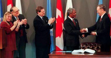 Les mines antipersonnel mises au ban en 1997 : «une victoire pour l'Humanité»