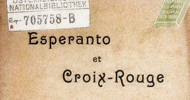 Quand l'espéranto se rêvait langue Croix-Rouge