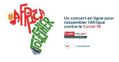 4 & 5 juin : Concerts exceptionnels en ligne «Afrique : Ensemble contre le COVID-19»