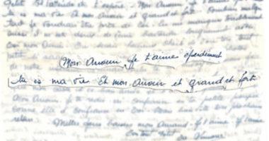 Seconde guerre mondiale : extraits de lettres d'amour entre prisonniers et bien-aimées