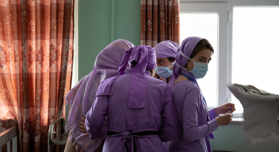Afghanistan : le difficile exercice du métier de sage-femme