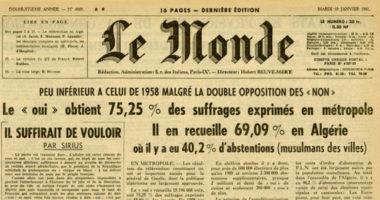 Retour sur le travail du CICR pendant la guerre d'Algérie
