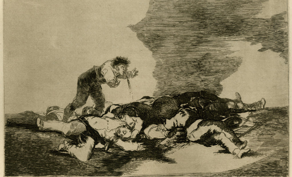 Hommage à l'auteur des «Désastres de la guerre», Francisco Goya, né un 30 mars…