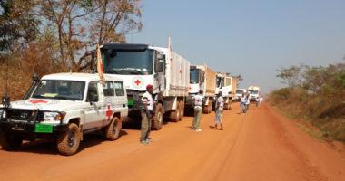 RCA : un premier convoi d'assistance CICR parvient à Bangui sans escorte