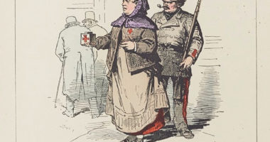 La quêteuse Croix-Rouge du «temps des cerises»