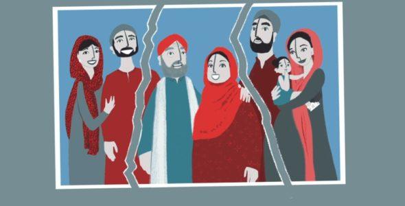 La réunification d'une famille afghane en pleine pandémie