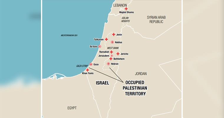 Le Comité international de la Croix-Rouge renforce son personnel à Gaza