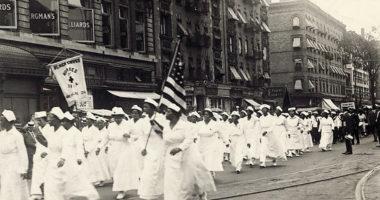 Les infirmières de la Croix-Noire, réponse afro-américaine des années 20