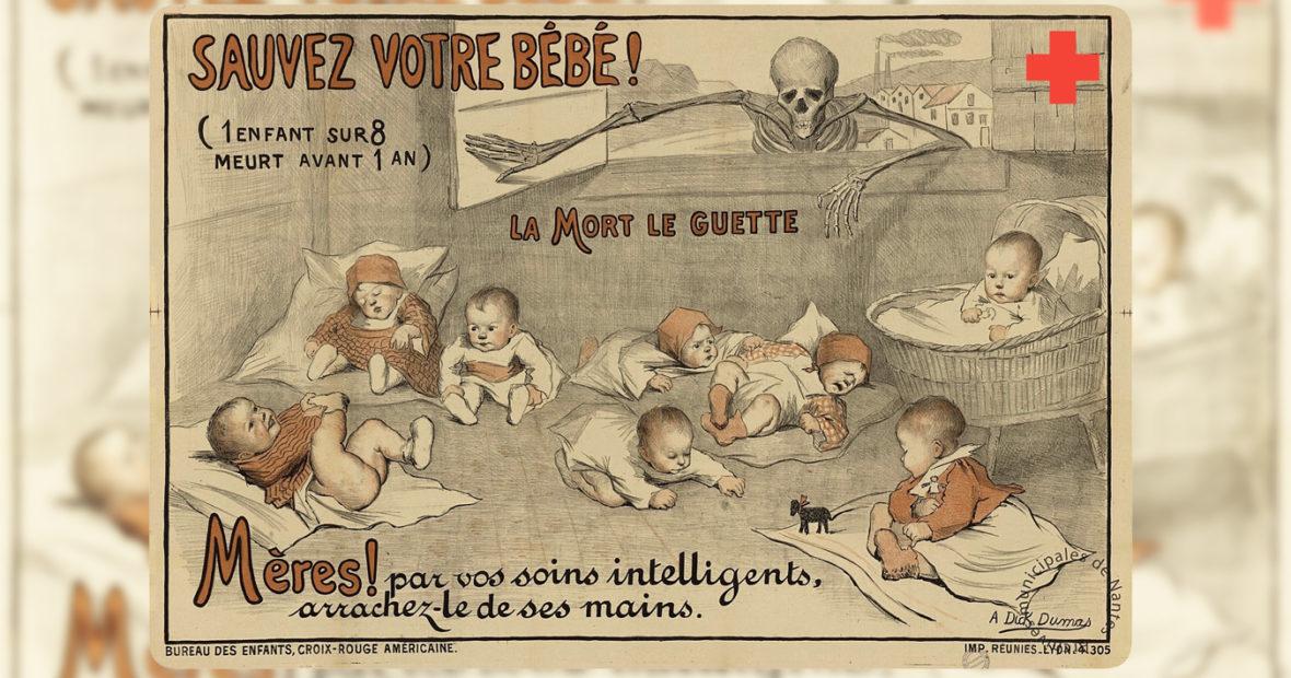 Le rôle majeur de la Croix-Rouge américaine joué en France pendant et après la Première guerre mondiale
